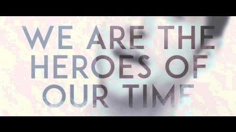 Måns Zelmerlöw Heroes (Official Lyric Video)