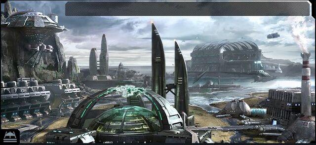 檔案:Ogame Water Planet Facilities Backdrop.jpg