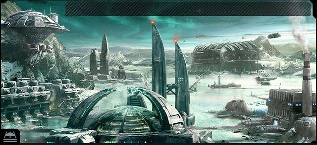檔案:Ogame Ice Planet Facilities Backdrop Full.jpg