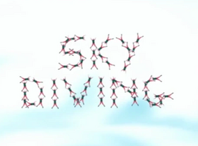 Sky Diving Title