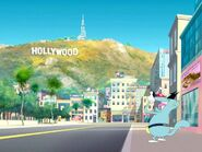 Touring Hollywood