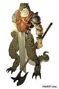 LuCT SNES Lizard Man Artwork