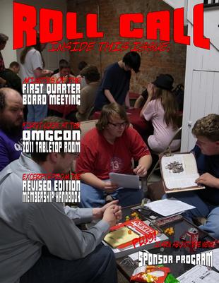 RollCallmarch2011cover
