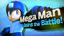 Mega Man in Smash Bros