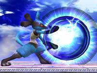 Lucario in Super Smash Bros Brawl
