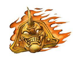Flame gargoyle
