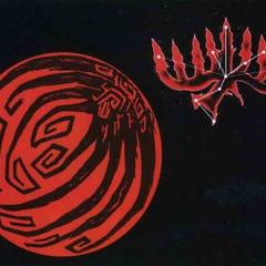 Ninetails' dark moon and constellation.