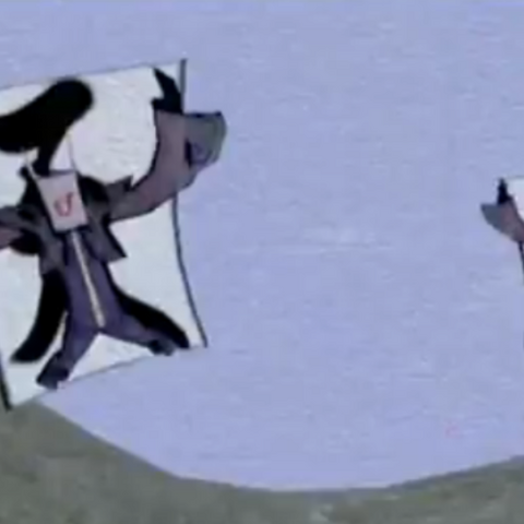 A pair of Blue Imps in <i>Ōkami</i>.