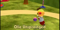 Olie Unsproinged