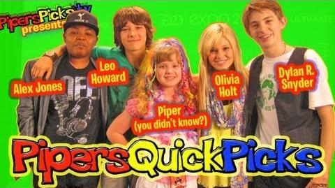 LEO HOWARD and OLIVIA HOLT KICKIN IT with DYLAN R