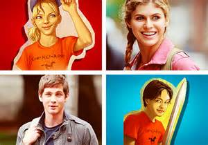 File:Percy and Annabeth, animated and actors..jpg