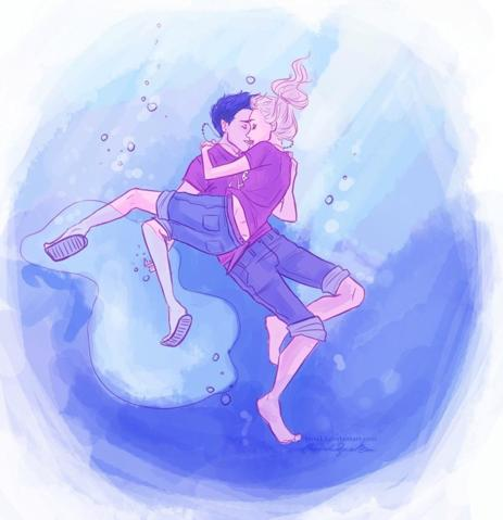 File:Percy and Annabeth's underwater kiss..jpg