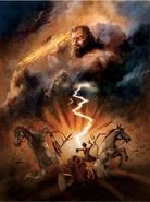 Zeus Destroying Salmonea
