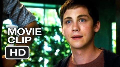 Percy Jackson Sea of Monsters Movie CLIP - Hi Brother (2013) - Logan Lerman Movie HD-0
