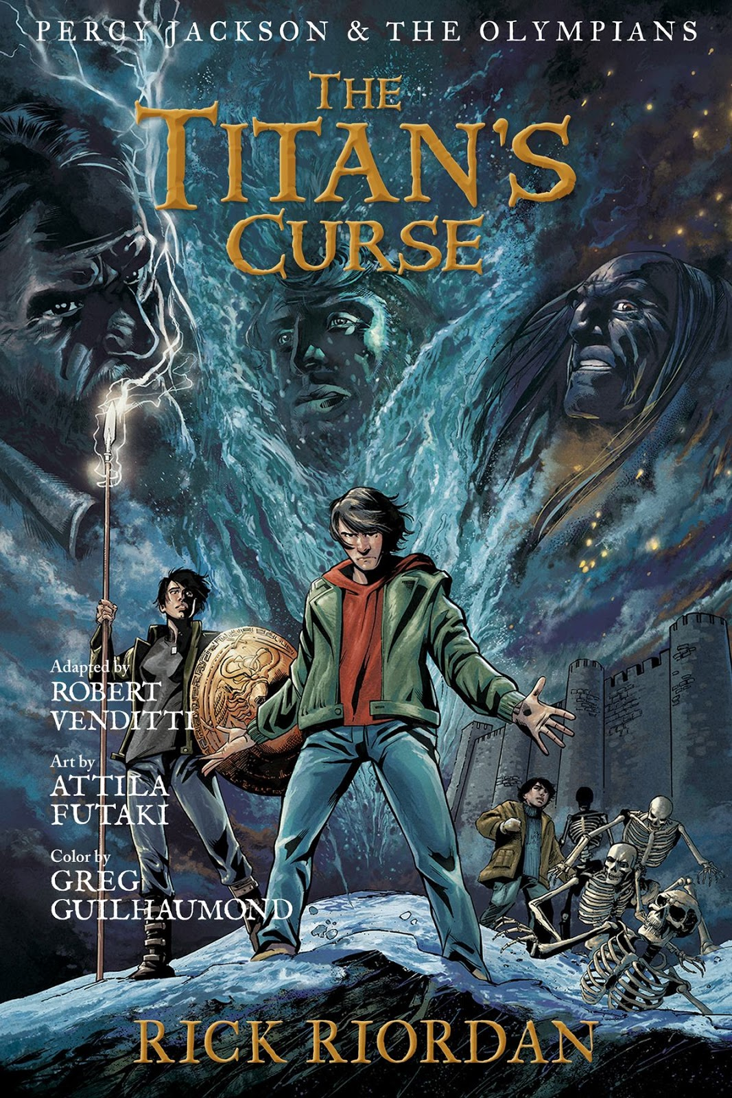 The Titan's Curse (graphic novel) Riordan Wiki FANDOM