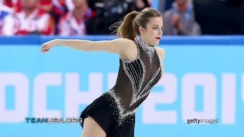 Bronze Medalist Ashley Wagner Team USA In Sochi