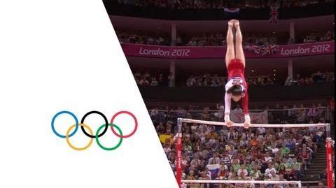 Aliya Mustafina (RUS) Wins Uneven Bars Gold - London 2012 Olympics