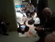 OHF- actor Cody Daniel filming his death scene in the film