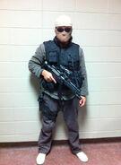 OHF- Steve Kim as Korean Commando inside White House