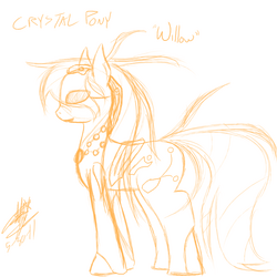 Crystal pony willow