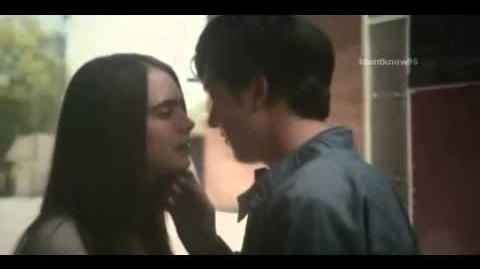 Paper Towns Margo and Quentin Kiss scene