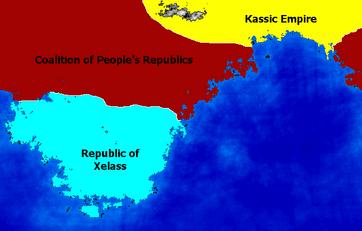Aiston map political