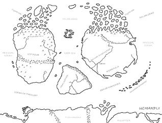Ucharpli Geographic Monochrome