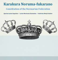 Constitution of the Normarian Federation cover