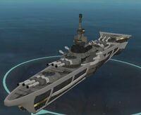 Kedalbe Class Battle-ship