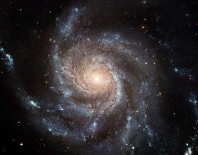 Azurin Galaxy (pinwheel Galaxy)