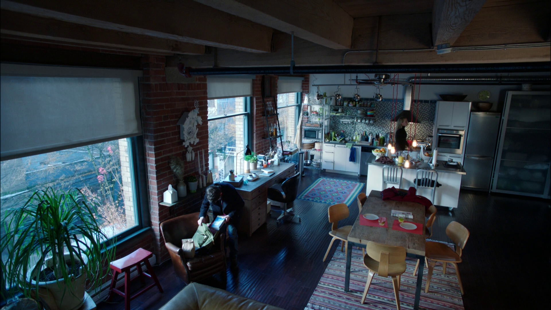 swan new york loft | once upon a time wiki | fandom poweredwikia