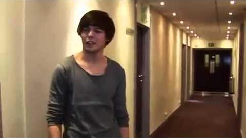"""One Direction's """"secret"""" video diary - The X Factor 2010"""