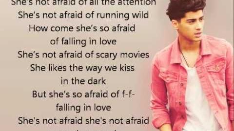 One Direction - She's Not Afraid lyrics-0