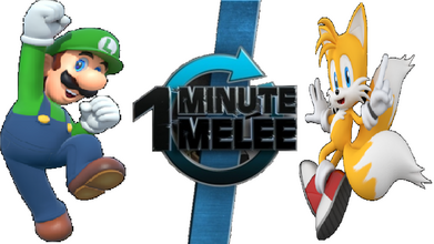 Luigi vs Tails One Minute Melee