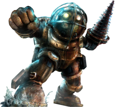 Big daddy bioshock one minute melee fanon wiki for Big daddy s antiques