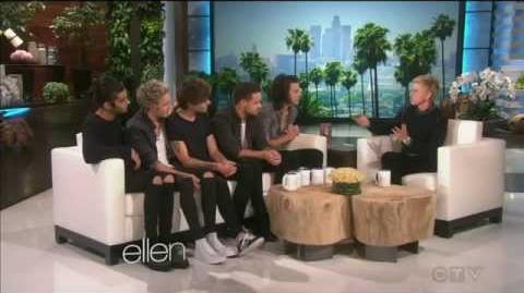 One Direction interview (Part 1) - Ellen TV show