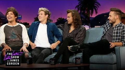One Direction & James Talk 'No Control'-0