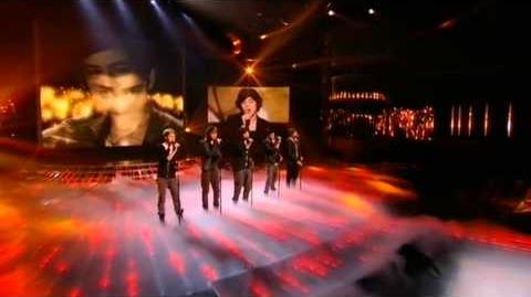 One Direction sing You Are So Beautiful - The X Factor Live show 8 (Full Version)