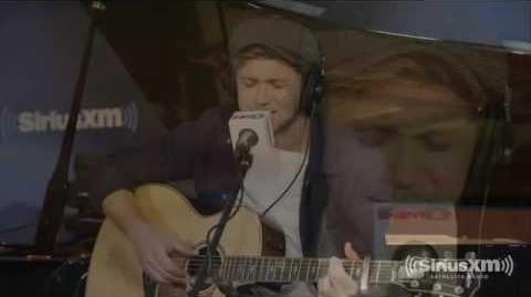 Niall on SiriusXMHits1 28 10 16 in NYC