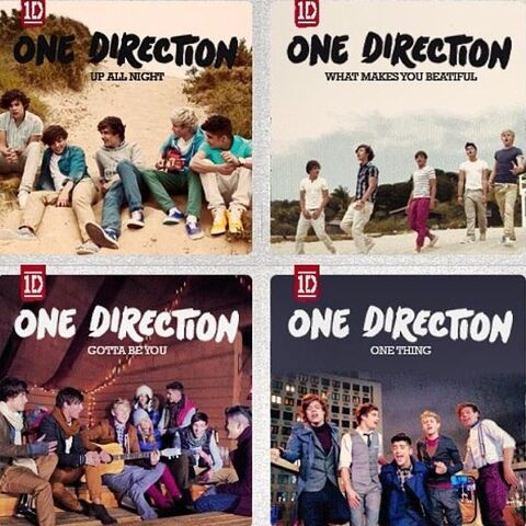 File:Up All Night, What Makes You Beautiful, Gotta Be You and One Thing.jpg