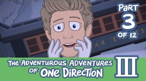 The Adventurous Adventures of One Direction 3 Part 3