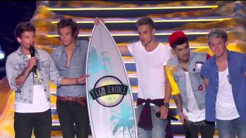 "One Direction Win Big at Teen Choice Awards, Plus ""Best Song Ever"""
