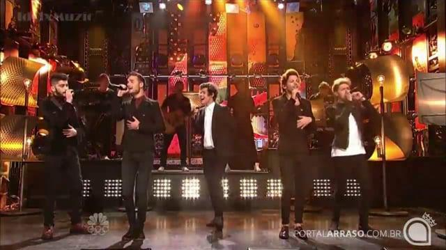 One Direction - Story Of My Life - SNL 12-7-13 - Portal Arraso