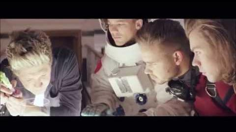 One Direction BTS Behind The Scenes - Between Us Fragrance Commer