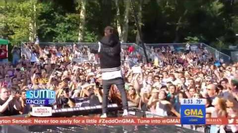 Zedd, Liam Payne - Get Low (GMA 21.07.17)