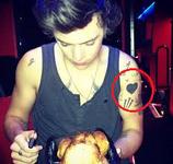Harry black heart