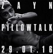 Zayn Pillowtalk
