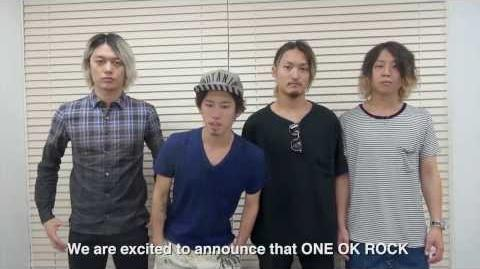 ONE OK ROCK Live at Northern America 2014