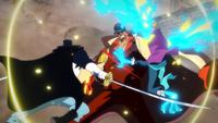 Akainu Attacked With Haki