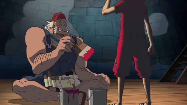 File:Diego Painting Wax Luffy.png